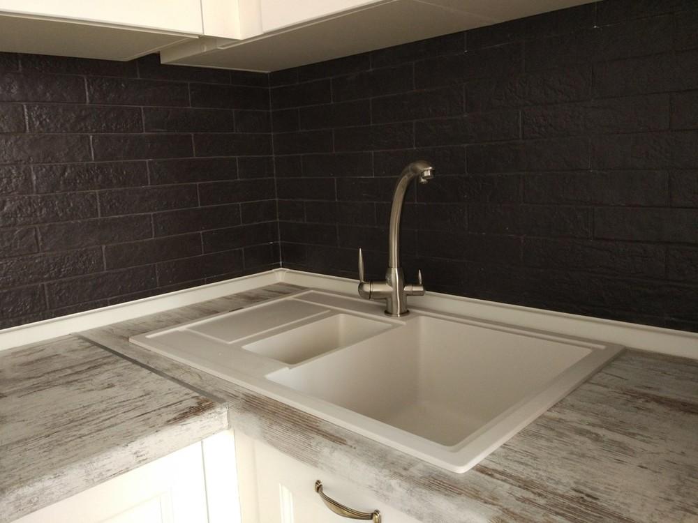 Белый кухонный гарнитур-Кухня из массива «Модель 218»-фото7