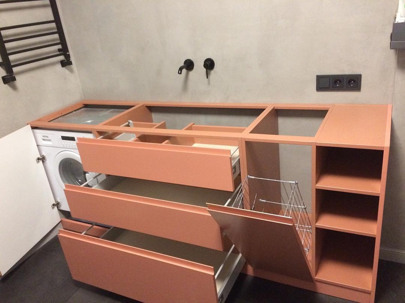 Мебель для ванной комнаты-Мебель для ванной «Модель 16»-фото4