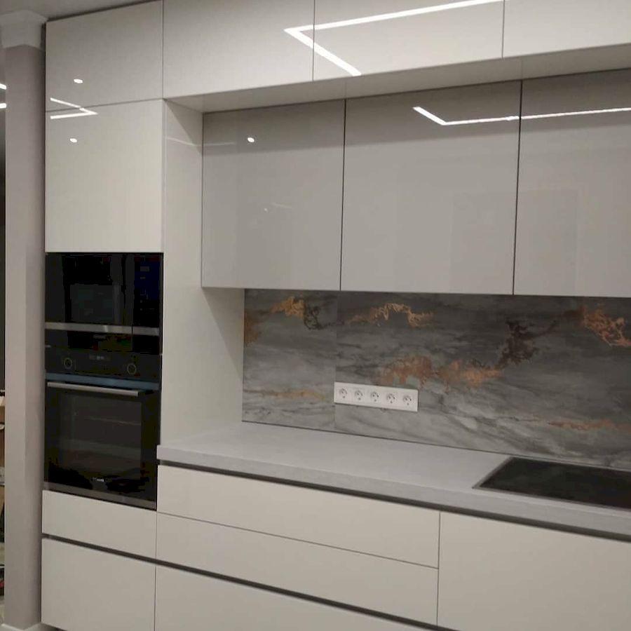 Акриловые кухни-Кухня из акрила «Модель 646»-фото5