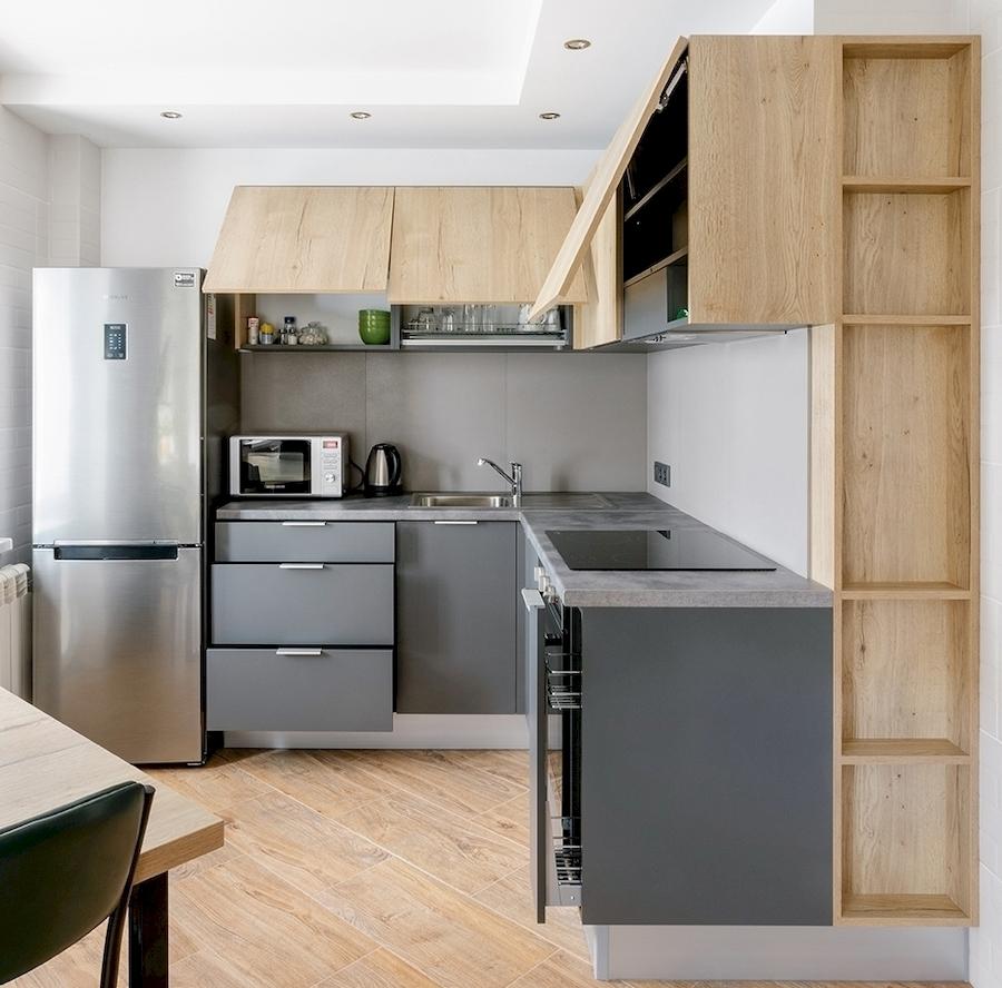 Купить кухню-Кухня МДФ в ПВХ «Модель 601»-фото4