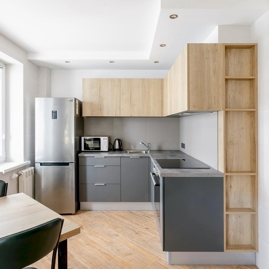 Купить кухню-Кухня МДФ в ПВХ «Модель 601»-фото2