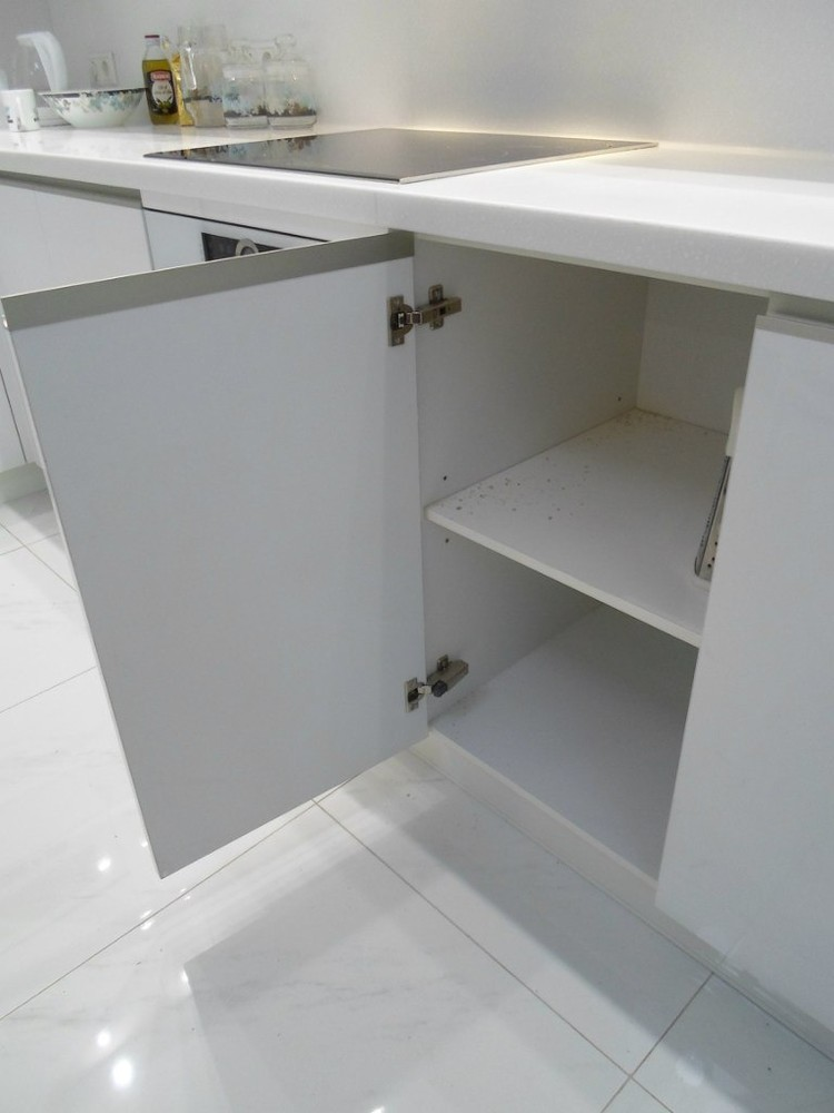 Акриловые кухни-Кухня МДФ в эмали «Модель 203»-фото4
