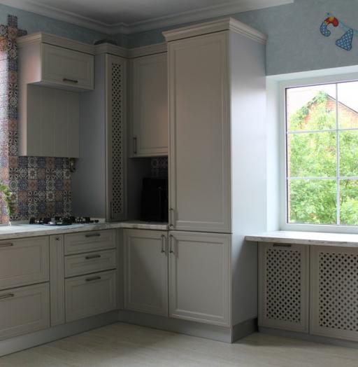 -Кухня МДФ в эмали «Модель 283»-фото27