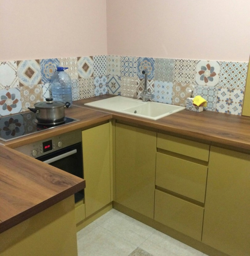 -Кухня МДФ в эмали «Модель 90»-фото19