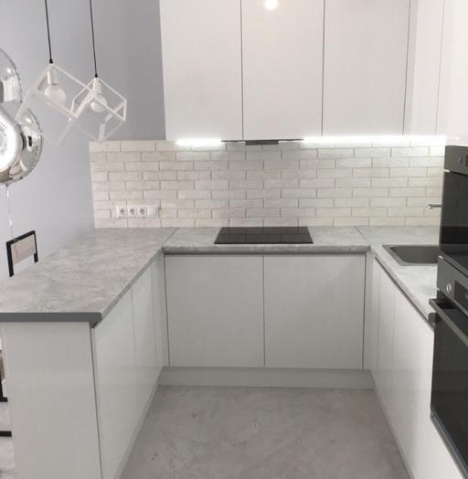 -Кухня МДФ в эмали «Модель 431»-фото6