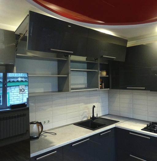 -Кухня из пластика «Модель 451»-фото20