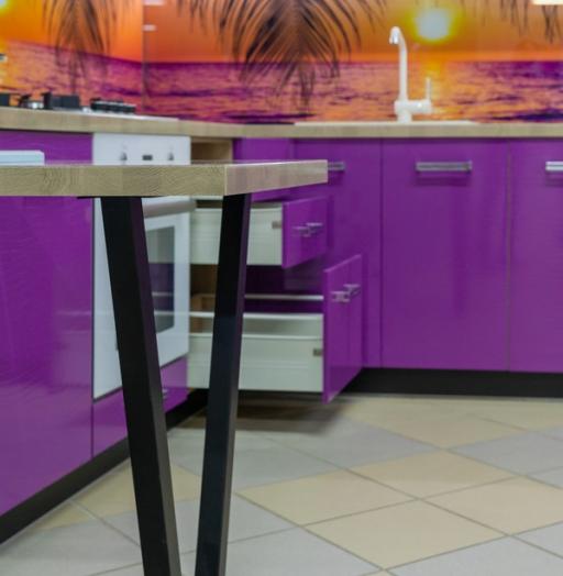 -Кухня МДФ в ПВХ «Модель 45»-фото4