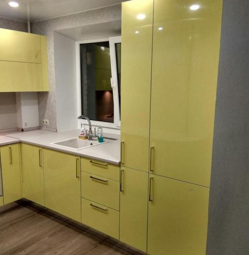 -Кухня МДФ в эмали «Модель 163»-фото17