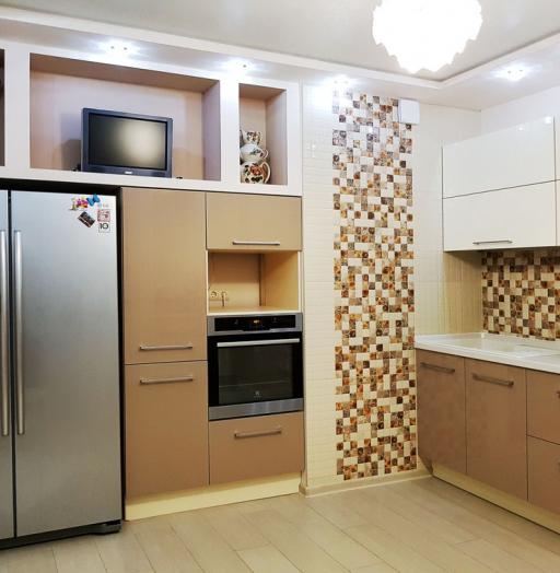-Кухня из акрила «Модель 298»-фото13